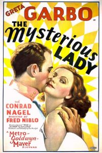 Mysterious Lady film poster